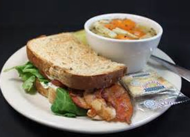 HALF SANDWICH & SOUP OF THE DAY COMBO