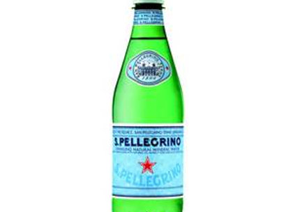 S. PELLEGRINO SPARKLING WATER, 500 ML BOTTLE