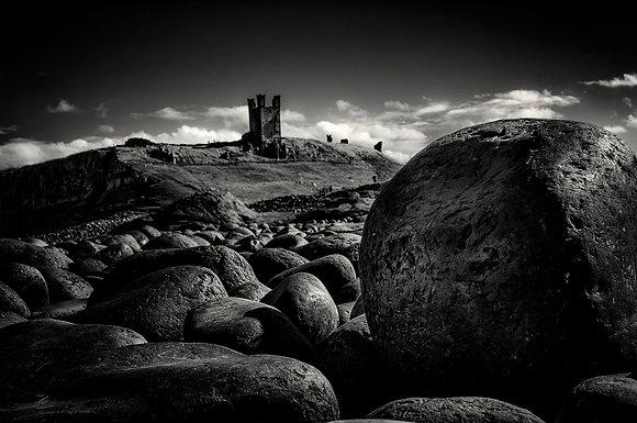 Landscape B&W 2 (Dunstanburgh Castle)