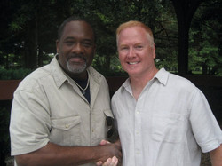 With Gregory Alan Williams