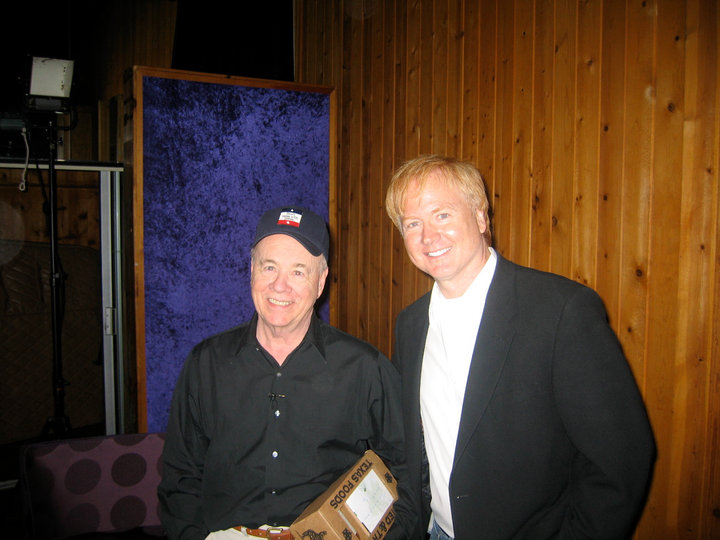 With Tim Conway