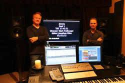 """'Jimmy"""" with Director, Mark Freiburger"""