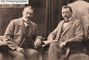 Firmengründer vlnr Ernst Frenzel_Emil R