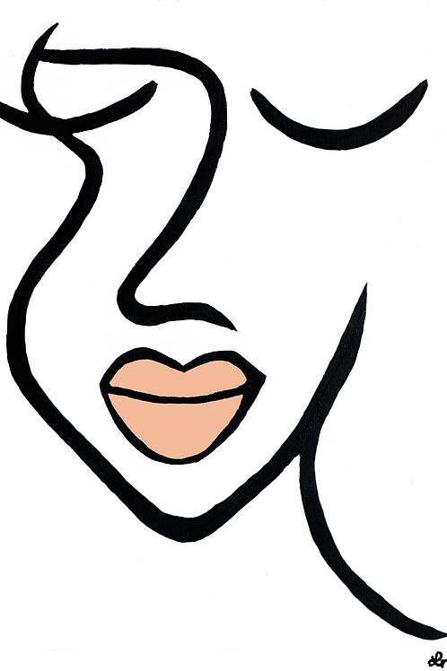 Peach lip