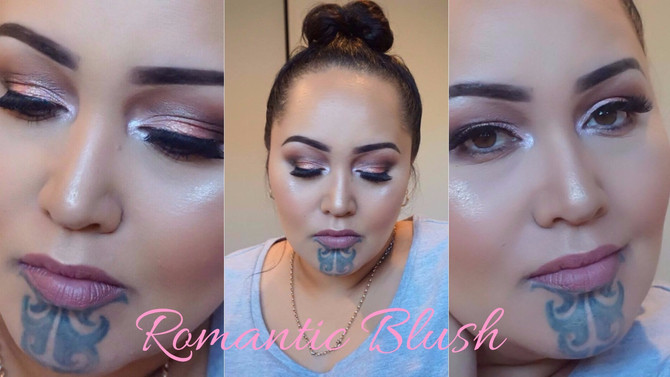 Romantic Blush Makeup