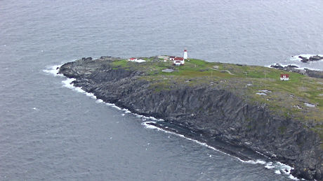 Cape Bauld on Quirpon Island is the most northerly point in Newfoundland, Canada, 2003