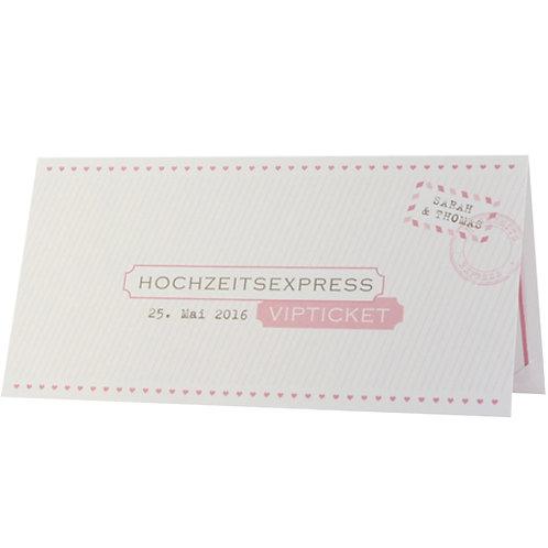 VIP Ticket Hochzeitsexpress – Belarto