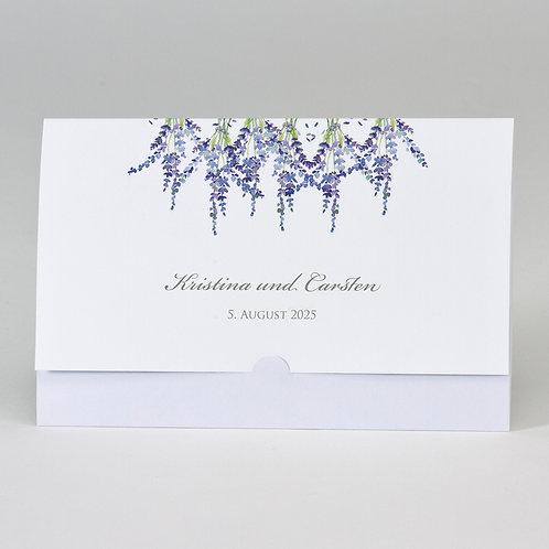 Taschenlook-Design mit Lavendel Motiv – Büromac