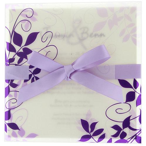 Hochzeitseinladung Violetta – Belarto