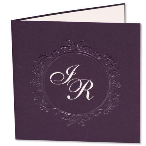 Hochzeitseinladung mit Initialien – Fenzl