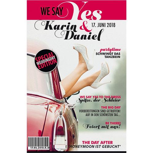 Magazin-Stil mit Ihren Namen auf dem Cover – Belarto