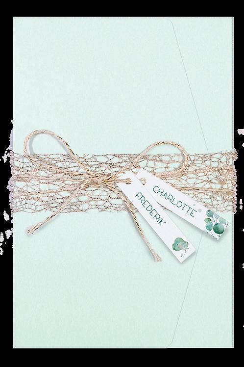 Hochzeitsmappe Mintgrün – Belarto