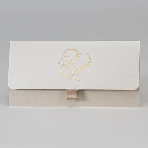 Taschenlook-Design mit Doppelherz – Büromac