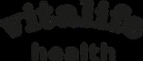 Viralife health logo black and white.png