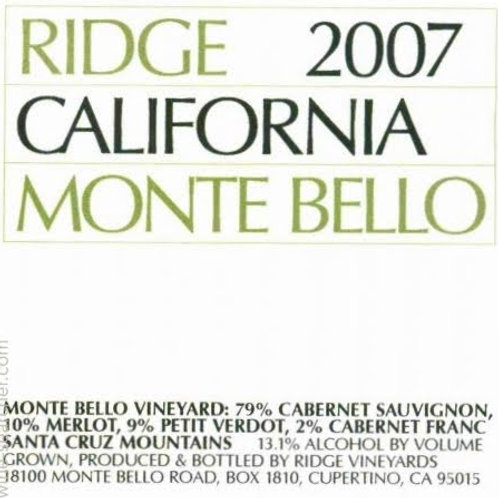 Ridge Monte Bello Santa Cruz Mountains