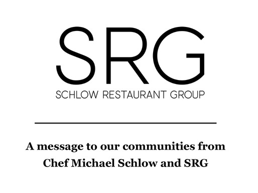 COVID-19 update from SRG restaurants to our guests