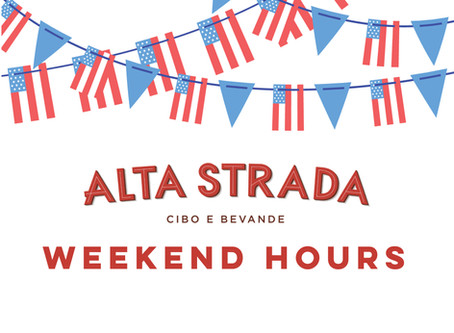 Independence Day: Weekend Hours