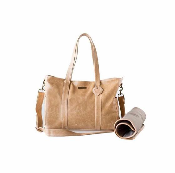 Luxury Baby Bag - Tan
