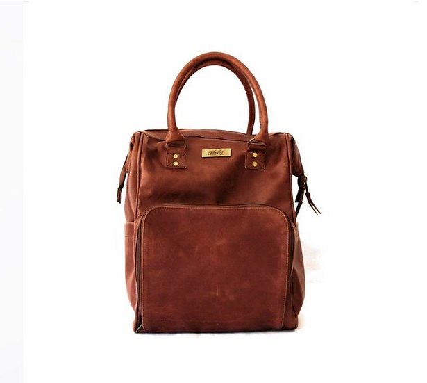 The Bambino Backpack - Brown