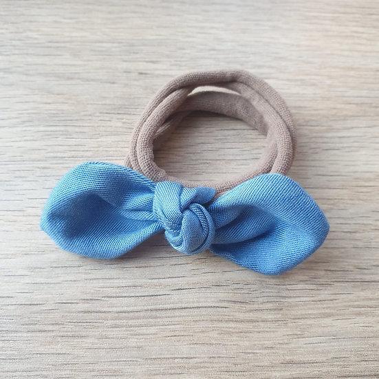 Denim Knotted Headband