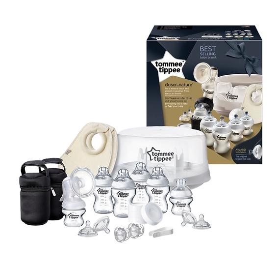 Tommee Tippee Microwave Steriliser & Breast Pump Kit