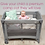 Thumbnail: BabyWombWorld Premium 2-in-1 Camp cot & Co Sleeper