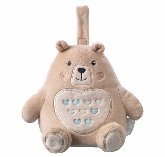 Grofriends - Rechargeable Light & Sound Sleep Aid - Bennie the Bear