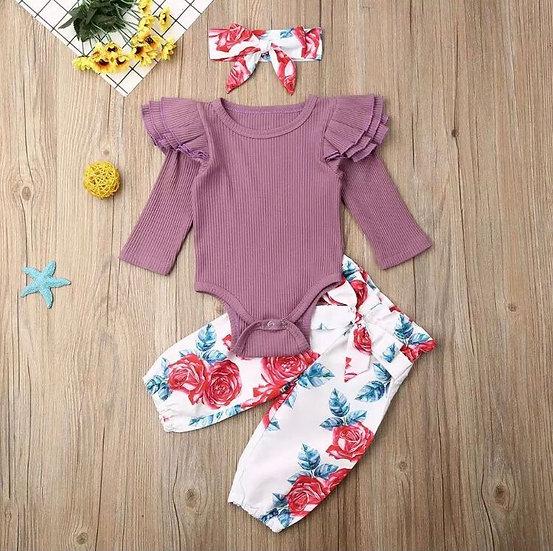 Purple Baby 3Piece Set