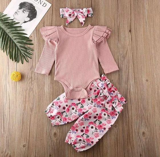 Pink Baby 3Piece Set