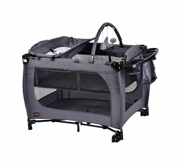 Chelino Siesta II Grey & Black Camping Cot