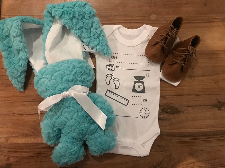 Birth Announcement Combo - Snuggly Bunny