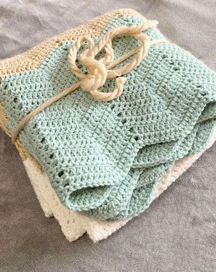 Mint & Dust Baby Blanket