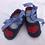 Thumbnail: Felt Baby Shoes 3-6 months