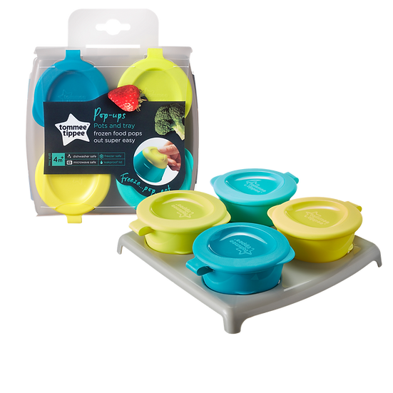 Tommee Tippee Pop Up Freezer Pots & Tray