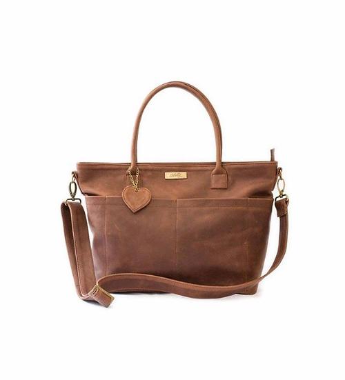 Beula Baby Bag - Brown