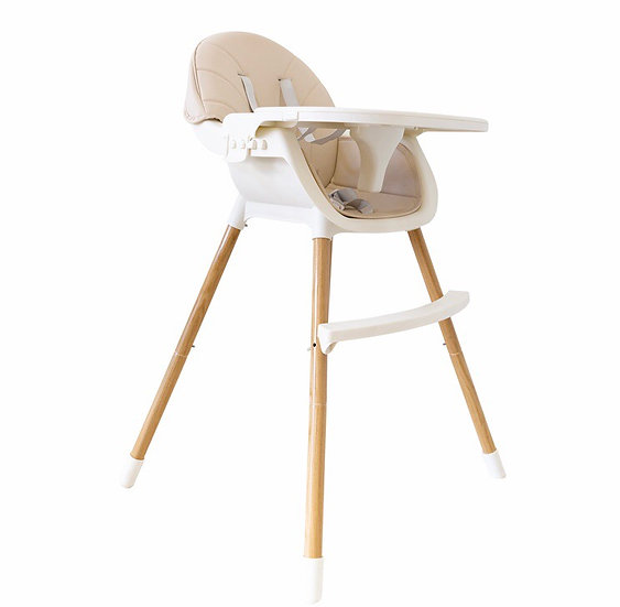 2-in-1  Convertible Baby High Feeding Chair with Tray