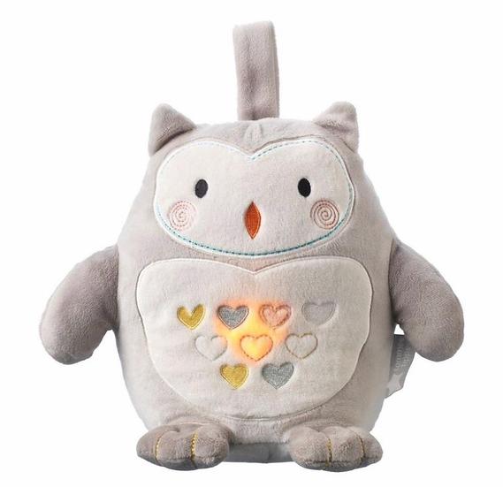Grofriend Rechargeable Light & Sound Sleep Aid - Ollie the Owl