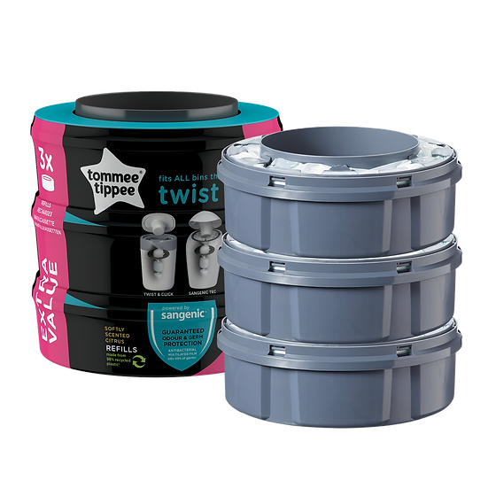 Sangenic Twist & Click Refill Pack of 3