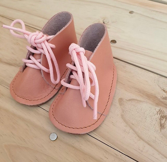 Pink Baby Vellies