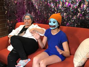 Rachel and Sapphire