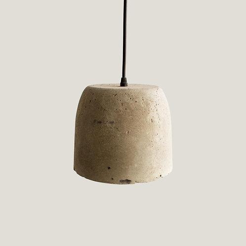 Lámpara de concreto