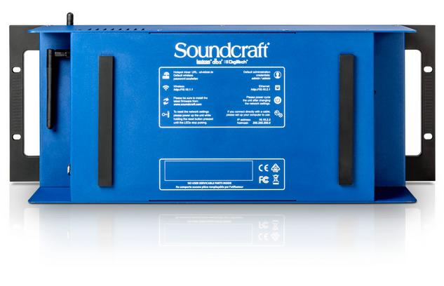 Soundcraft Ui 24R - Rear