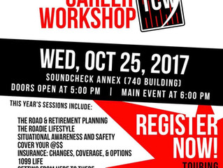Touring Career Workshop