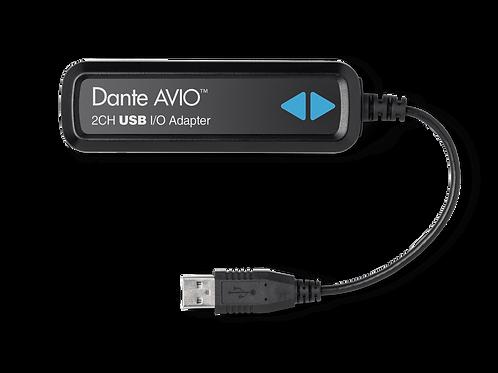 Dante® AVIO USB Adapter