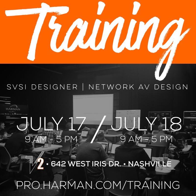 Network AV Training Flyer