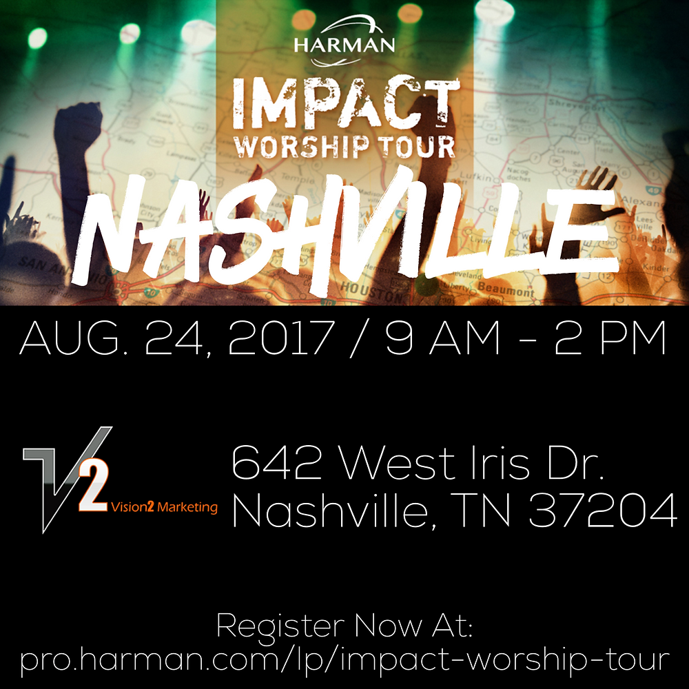HARMAN Impact Worship Flyer