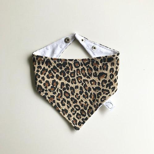 Leopard Bib