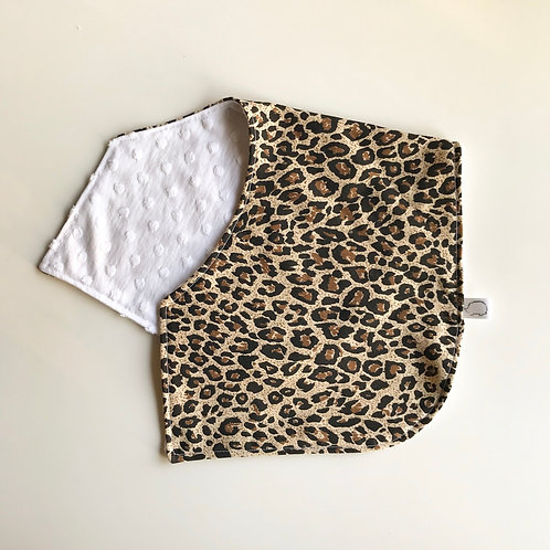 Leopard Burping Cloth