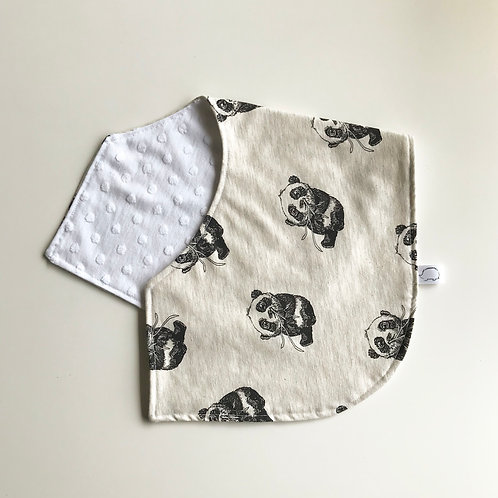 Panda Burping Cloth