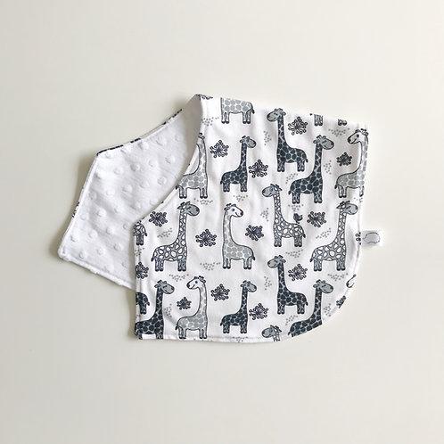 Giraffe burping cloth